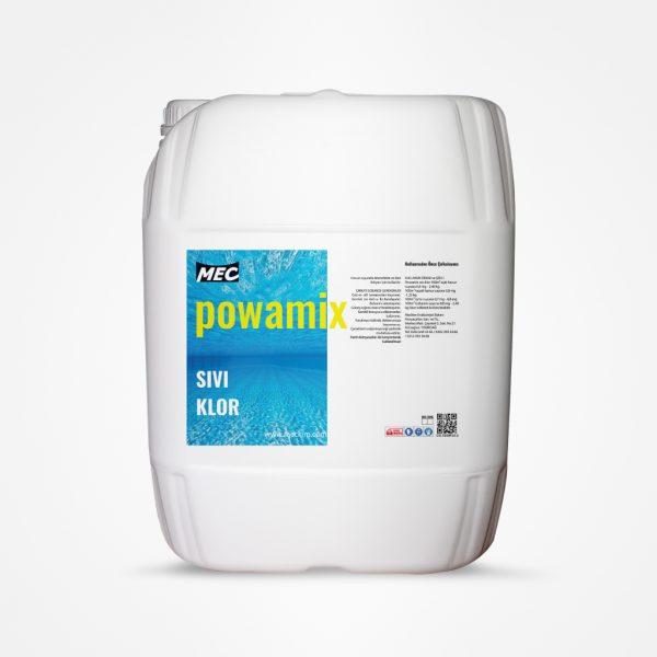 Sıvı Klor Powamix 30Kg