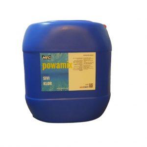 Sıvı Klor Powamix 25Kg